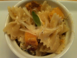 Pasta with Roasted Pumpkin