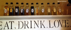 Selection of Devo's olive oils and balsamics