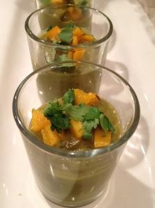 avocado coconut soup