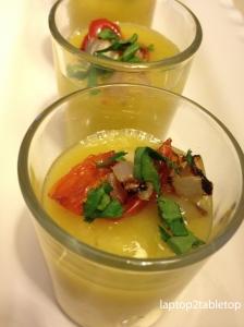 Cucumber Mango Soup