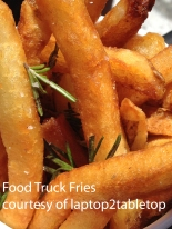 Sweet Potato Fries at the New England Food Truck Festival
