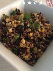 corn black bean quinoa