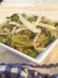 farro and spring vegetables