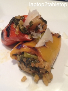 risotto stuffed peppers