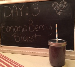 banana berry blast smoothie