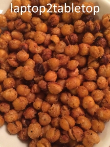 roasted garbanzo bites