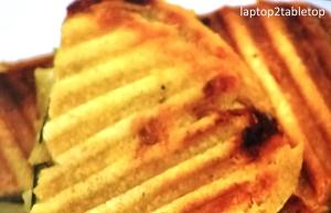 camembert apple panini