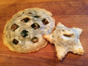 Kale and Sausage Hand Pies