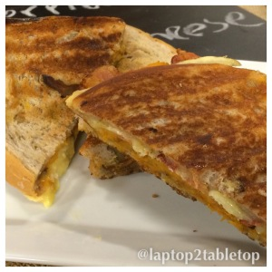 Grilled Cheese with Roasted Butternut Squash Schmear